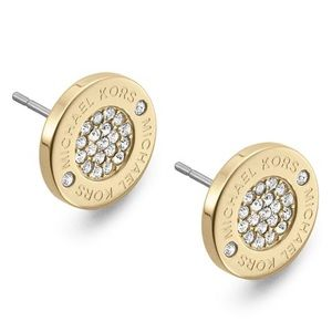 Michael Kors pave earrings